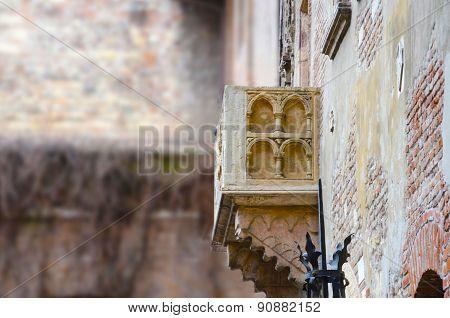 Balcony of Romeo and Juliet in Verona