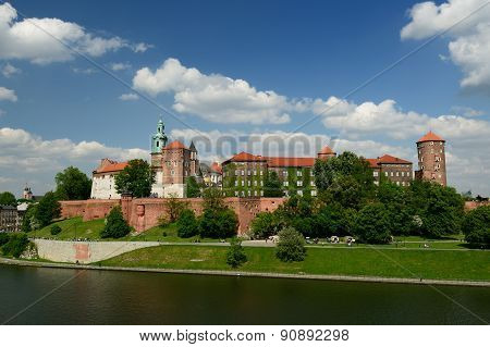 Wawel Castle, Royal Palace In Cracow