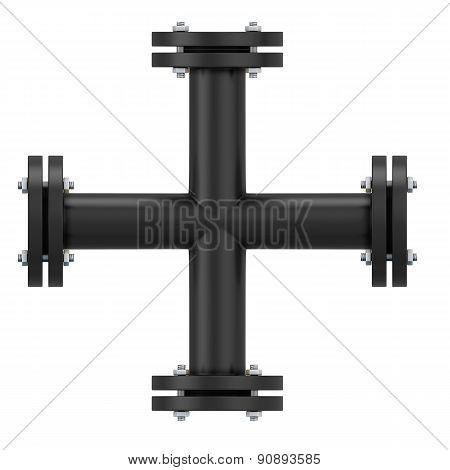 Black Pipeline Cross