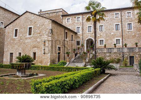 The Abbey Of Casamari, Near Veroli, Italy