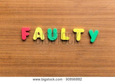 Faulty