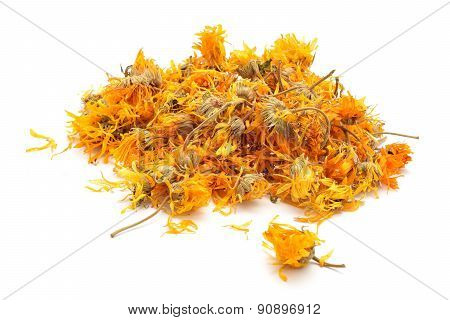 Marigold Dry Tea Flowers