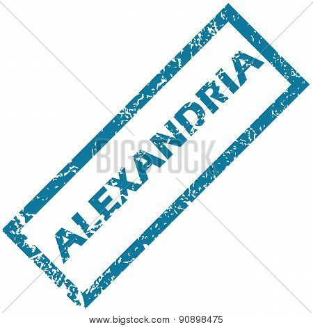 Alexandria rubber stamp
