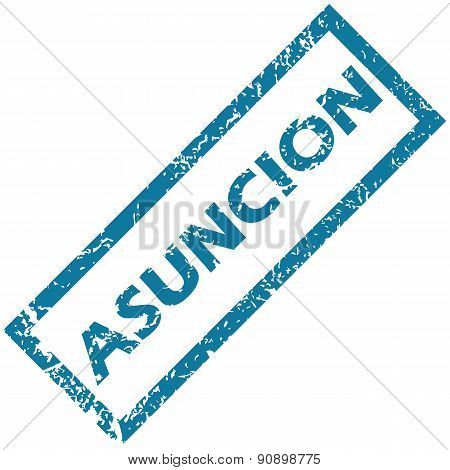 Asuncion rubber stamp