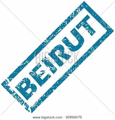 Beirut rubber stamp