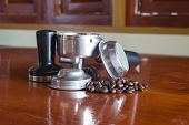 picture of brew  - Coffee Beans and Coffee Brewing Machine Parts  - JPG