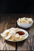 pic of chinese crackers  - Fresh Krupuk  - JPG