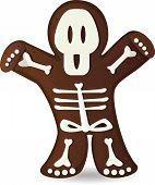 picture of gingerbread man  - Halloween gingerbread man  - JPG