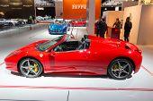 Постер, плакат: Ferrari 458 Spider