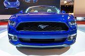 Постер, плакат: 2015 Ford Mustang