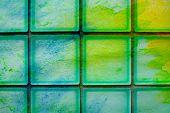 foto of tilde  - tildes glass block wall  - JPG