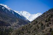image of karakoram  - Idyllic of mountain peak Northern area of Pakistan - JPG