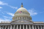 stock photo of capitol building  - Washington DC United States landmark - JPG