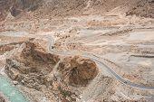 foto of karakoram  - Idyllic of Mountain and Valley in Northern area of Pakistan - JPG