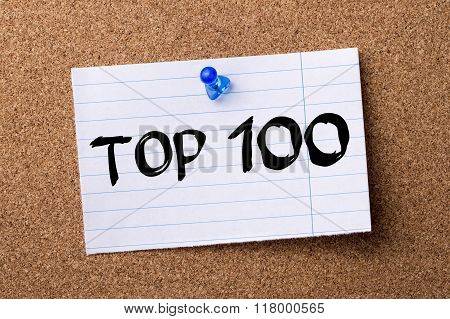 Top 100 - Teared Note Paper  Pinned On Bulletin Board