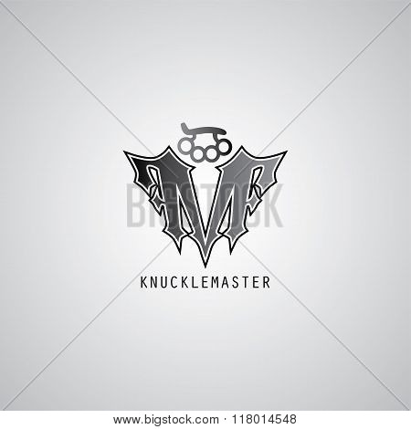 Knuckle Logo Template