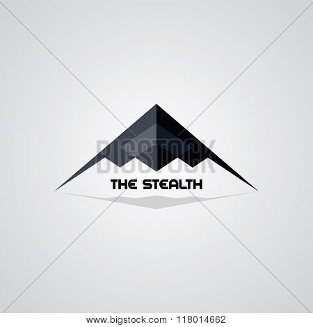 Stealth Ship Logo Template