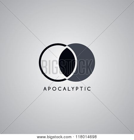 Apocalypse Moon Logo Template