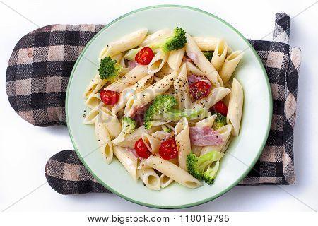 Colorful Healthy Pasta.