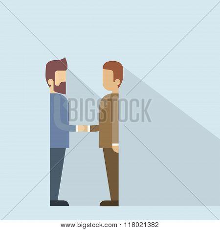 Two Businessman Hand Shake, Business Man Handshake