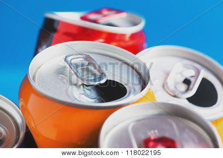Colorful Aluminum Can, Recycled Doses