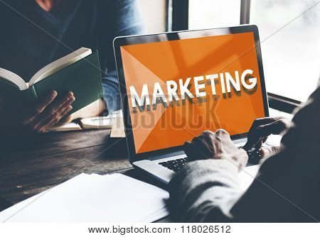 Browsing Network Internet Marketing Strategy Concept