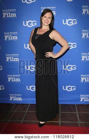 SANTA BARBARA - FEB 12:  Meredith Garofalo at the 31st Santa Barbara International Film Festival - Cinema Vanguard Award on February 12, 2016 in Santa Barbara, California