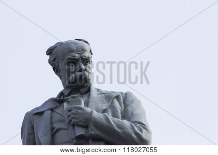 Monument Ukrainian Poet And Writer Taras Shevchenko