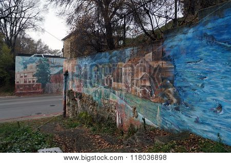I & M Canal Mural