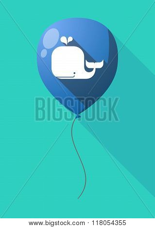 Long Shadow Balloon With A Whale