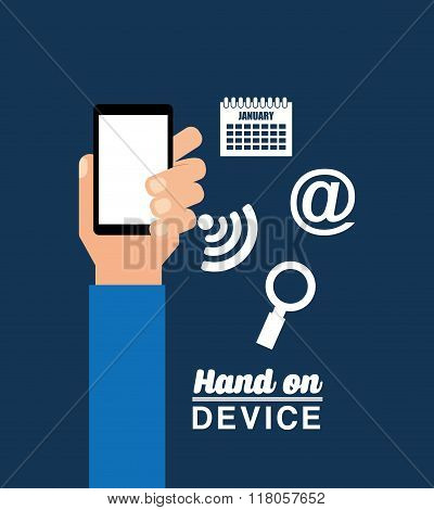 hand on device design