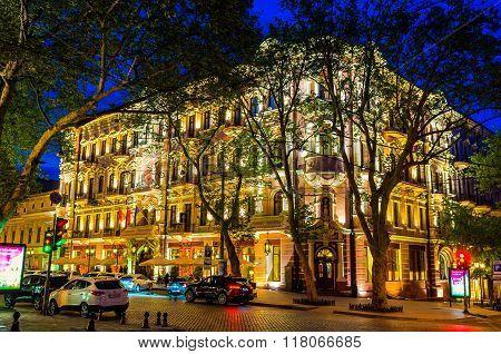 The Hotel Bristol