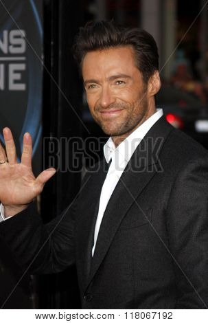 Hugh Jackman at the Los Angeles Premiere of