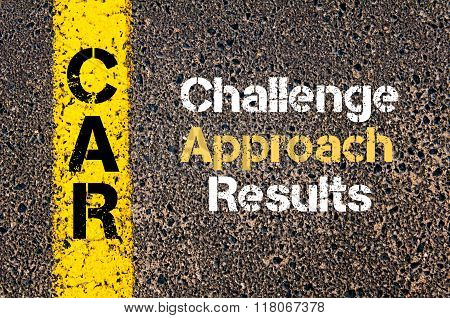 Business Acronym Car Challenge, Approach, Results