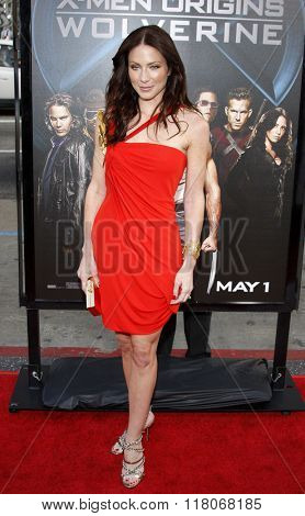 Lynn Collins at the Los Angeles Premiere of