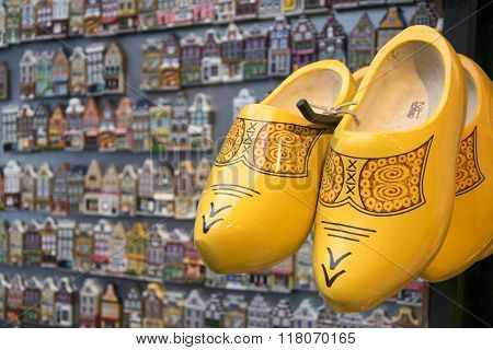 Traditional dutch clogs