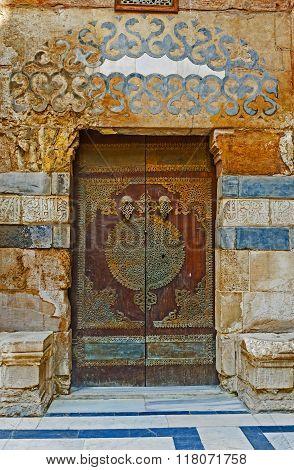 The Old Arabic Door
