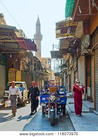 The Market On Al-muizz Street