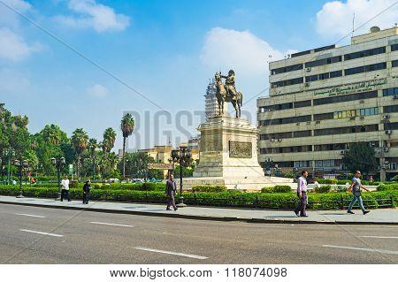 The Ibrahim Pasha Statue