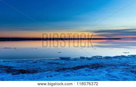 Lachine Quebec, overlooking Lac St Louis.
