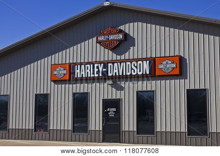 Kokomo, IN - Circa February 2016: Harley-Davidson Motorcycle Dealership I