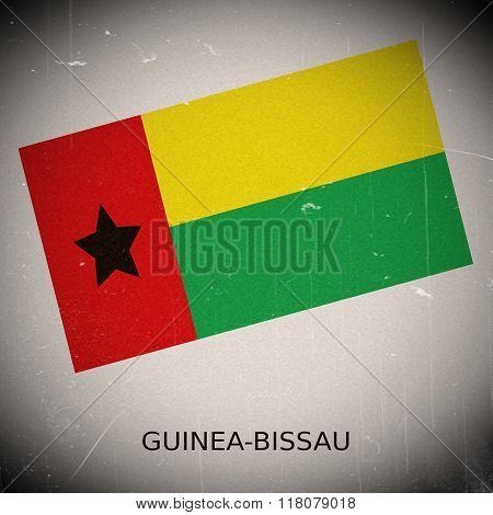 National Flag Of Guinea - Bissau