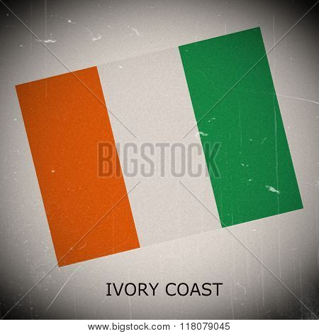 National Flag Of Ivory Coast