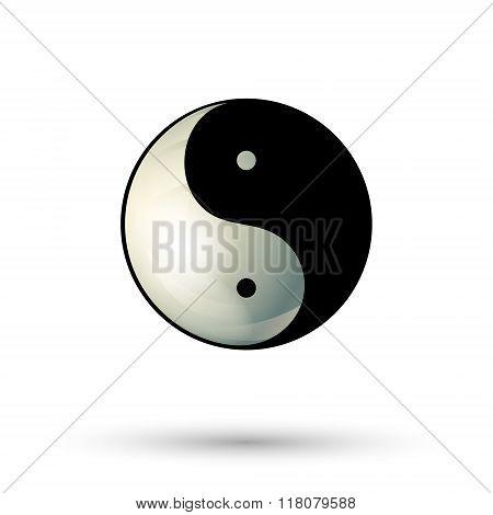Yinyang Symbol Icon