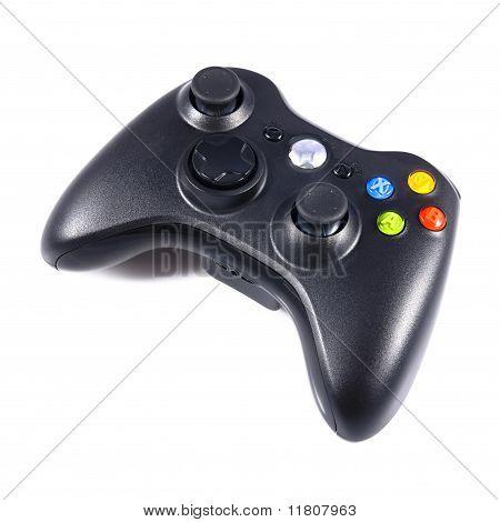 poster of Wireless black gamepad