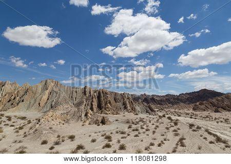 Quebrada de las Flechas in Northwest Argentina