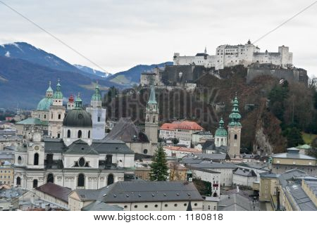 Salzburg Old District