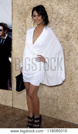 Emmanuelle Chriqui at the Season 7 Premiere of