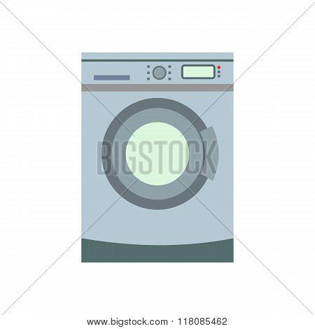 Washer flat icon
