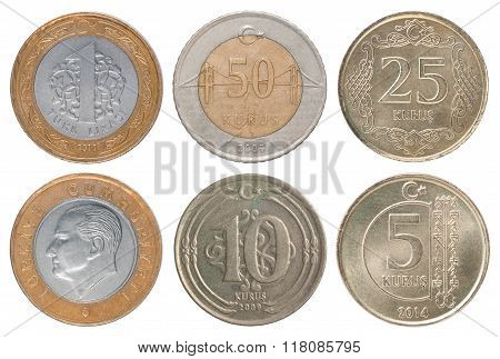 Set Turkish Coin